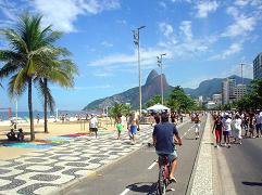 Another beautiful day on the beaches of Rio de Janeiro
